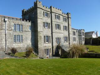 Old castle overlooking the sea with stunning views, Penzance