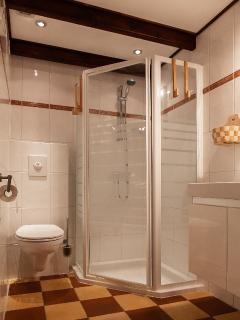 Second bathroom with shower, toilet at first floor