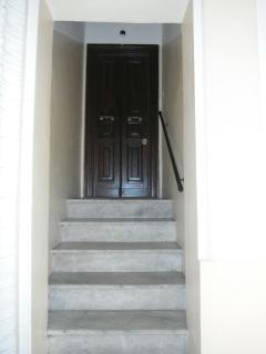 L'ingresso della casa vacanze 'Domi Aloisii'.