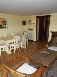 Great, spacious games room / second sitting room on lower floor of property.