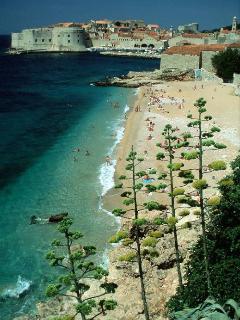 The beach BANJE