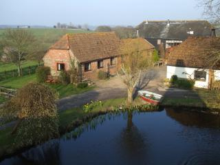 Byre Holiday Cottage Pond