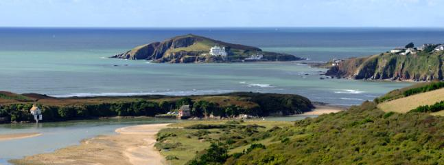 Burgh Island and river Avon estuary, 20 minutes