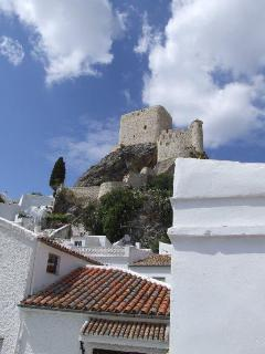 Arabic castle, viewed from the terrace