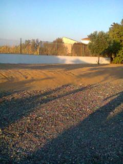 area sabbiosa esterno B&B Raffaella
