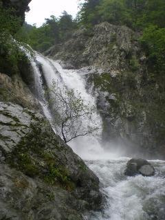 Cascades des Anglaise near Vernet le Bain