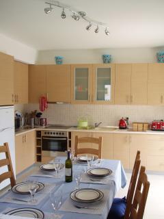 Well stocked kitchen....