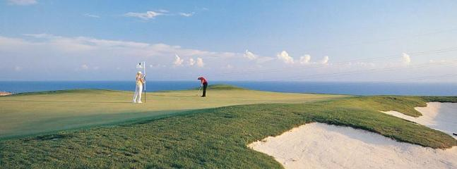 Choose from four leading golf courses in the Paphos region