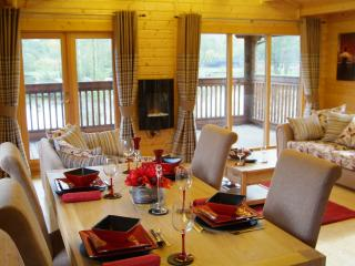 Bleasdale Lodge Dining Area