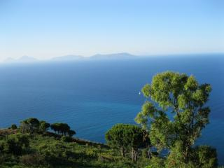 Magnificent view of the Aeolian Island taken from Villa Jare's Terrace