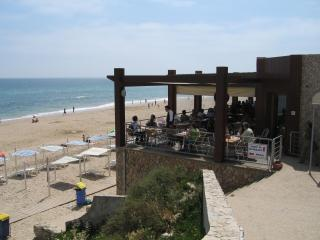Antonio's one of two restaurants on the beach