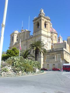 St Lawrenec Church in Vittoriosa