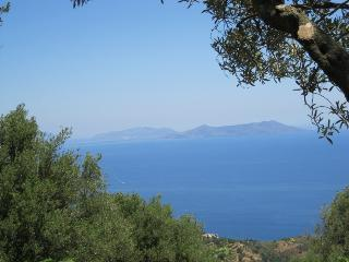 Fantastic view of the Aeolian Island from the terrace of Casa Jare