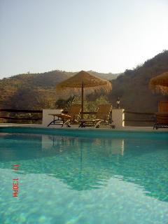 Poolside sun terrace