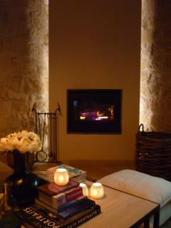 Cosy evenings by the log burner
