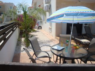 Left Side Garden, Extended Terace For Table, Chairs & All Day Sun