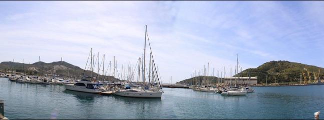 The port at Cartagena