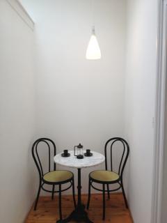 breakfasting area