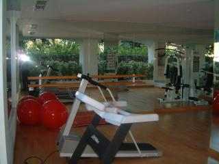 The well equiped Gym and pool is available during your stay for a small fee payable at reception