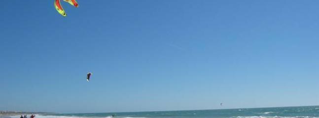 Local beach at La Barossa