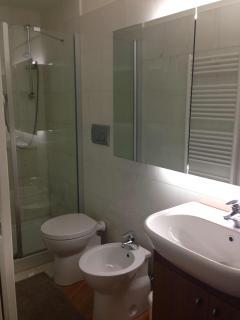 Bathroom on bottom floor