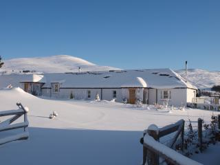 Snowy days at Dalnoid - just 20 mins from Glenshee Ski Centre