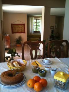 colazione nel salone