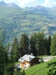 Our chalet in the summer