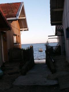Les cabanes au bord de l'eau