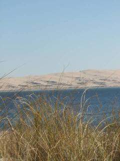 La dune du Pyla vue de la pointe du Ferret