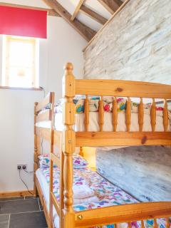 Children's bunk bedroom