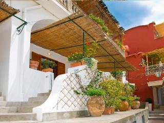 Positano center rental APPARTAMENTO AMANDA with sea view, terrace, wifi