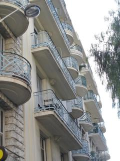 Typical traditional balconies