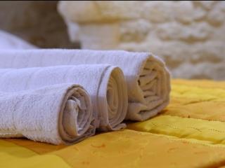 Asciugamani in dotazione