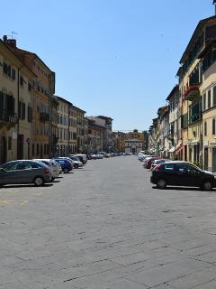 The main square in Pescia