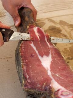 famous ham...prosuto