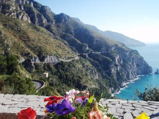 Amalfi Coast Positano 3 km VILLA ARORA, private terrace, free parking, wifi
