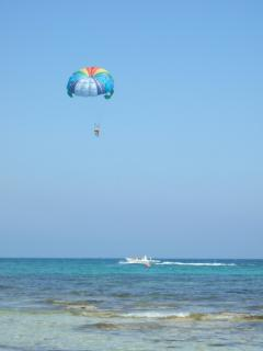 You could try Parascending at Nissi Beach