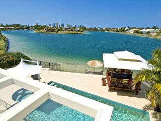Luxury Gold Coast Waterfront Holiday Villa- Winner best family holiday home