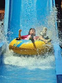 Water parks near by