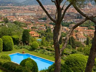 Comfortable apartment in the tuscan hills with large terrace and pool access