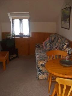The cottage living area