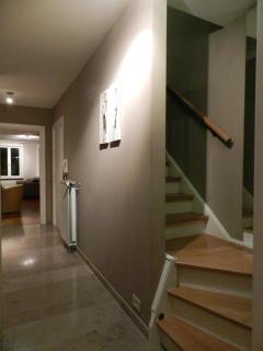 corridor wih staircase