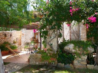 """Stone butterfly"", old stone house., Scopello"