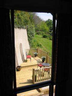 View from The Linhay's Gallery Bedroom