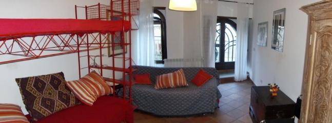 Schlafzimmer Untergeschoss — Lower floor bedroom