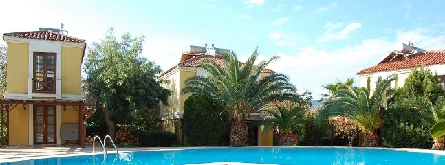Set in lovely gardens, all the apartments overlook the pool