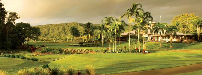 The adjacent Sea Reef Golf Club
