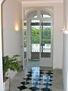Main Foyer of Apartment Building - with marble tiling