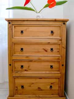 Chester drawer in bedrooms